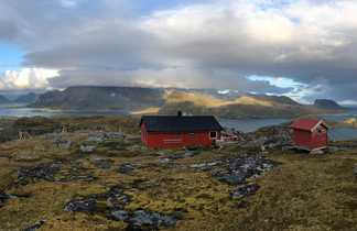 Fredvang, îles Lofoten, Norvège