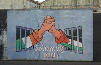 Fresque murale à Belfast, unité