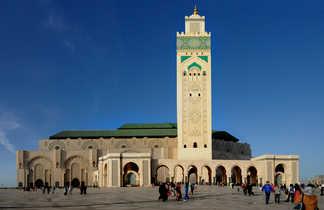 Grande mosquée Hassan II, Casablanca, Maroc