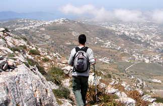 Grece, randonnée sur l'île de Santorin
