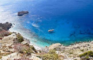 Grèce, sur l'île d'Amorgos