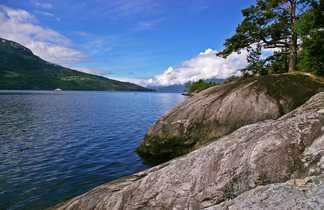 Hardanger Fjord, Sud Norvège