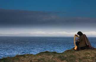 Harpiste Donegal Irlande