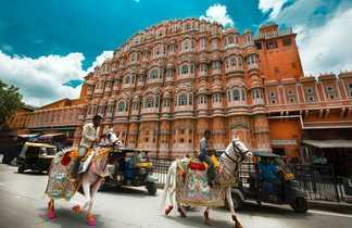 Hawa Maha, le palais des Vents à Jaipur