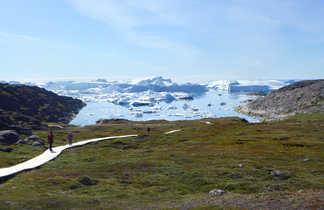 Fjord glacé d'Ilulissat au Groenland