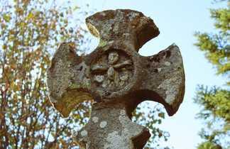 Irlande, croix celtique, voyage