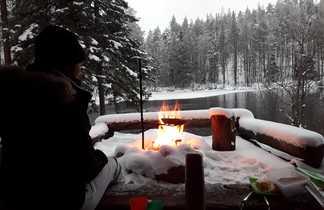 Journée trappeur et feu de bois
