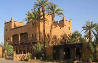 Kasbah, Maroc