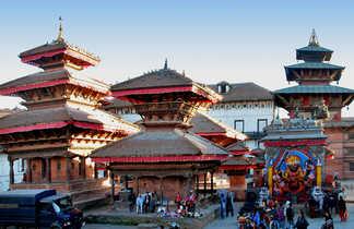 temples Katmandou