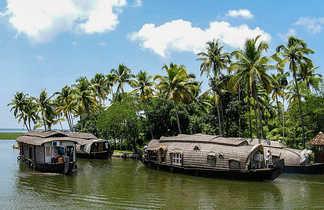 Kattuvalam dans les backwaters, Kerala