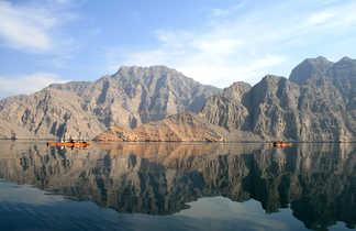 Kayak Musandam, Oman