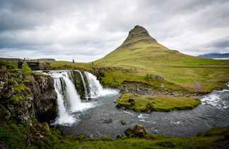 Cascade de Kirkjufell, Snaefellsness, Islande