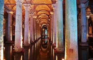 La Citerne Basilique à Istanbul en Turquie