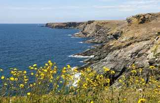 La côte sauvage de l'île de Groix, Cornouaille, Bretagne