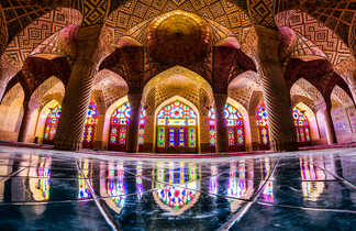 La mosquée rose Nassir-ol-Molk à Chiraz