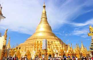 La pagode de Shwedagon