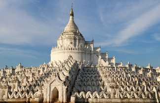 La pagode Hsinbyume à Mingun