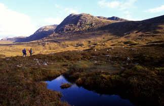 La vallée de Glencoe et la plaine du Rannoch Mor