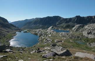 La vallée des merveilles dans le massif du Mercantour