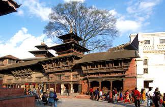 La vieille ville de Katmandou