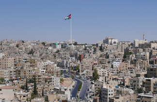La ville d'Amman en Jordanie