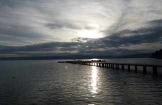 Lac de Orhid coté Macédoine