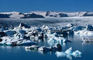 Lac glaciaire de Jokulsarlon
