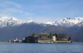 Lac majeur en Italie