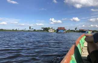 Lac Tempe, Sulawesi, Indonésie