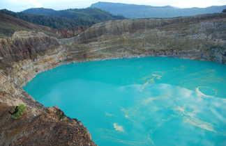 Lacs de cratère Kelimutu, Flores, Indonésie