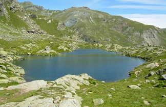 lacs du Mont Viso dans les Alpes du sud