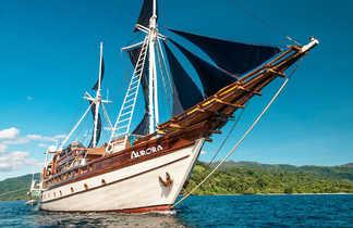 L'Aurora, bateau de croisière en Indonésie