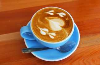 Le café latté, une institution dans le pays