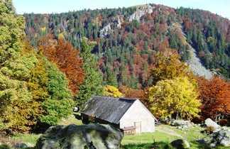 Le cirque glaciaire du Frankenthal dans le massif des Vosges