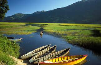 Le lac Phewa, près de Pokhara