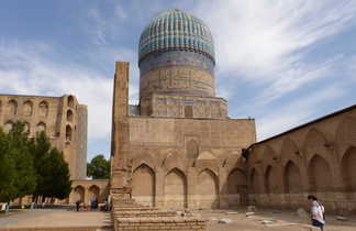 Le mausolée de Tamerlan