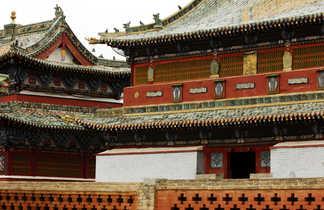 Le monastère de Gandan à Ulan Bator
