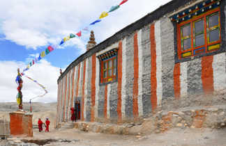 Le monastère de Niphu, dans le Haut-Mustang