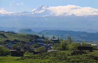 Le mont Aragat