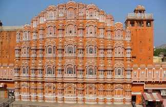 Le palais des vents à Jaipur au Rajasthan