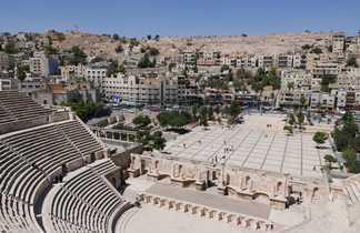 Le théâtre antique d'Amman en Jordanie