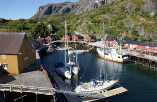 Le village classé de Nusfjord