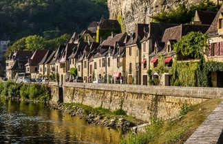 Village Roque Gageac Dordogne Périgord Sud-Ouest France