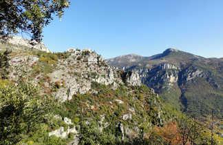 Le village perché de Peillon, Cote d'Azur