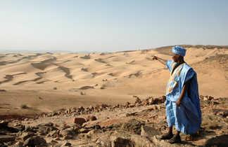 Lecture de paysage, Mauritanie