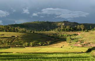Les belles et colorées Hautes Terres de Madagascar