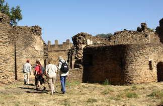 Les chateaux de Gondar en Ethiopie