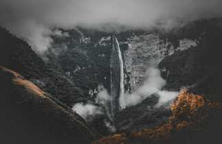 Les chutes de Gocta dans le nord Pérou