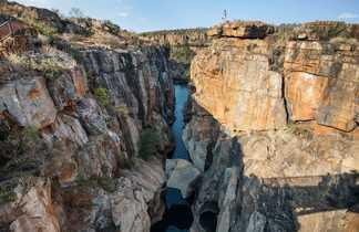 Les gorges de Bourke's Luck dans le Mpumalanga en Afrique du Sud