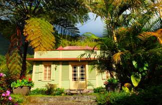 Les magnifiques cases créoles de la Réunion